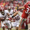 Projected Depth Chart for Alabama vs. Arkansas