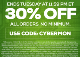 TideFansStore.com Cyber Monday Extended!