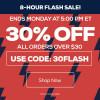 TideFansStore.com: 30% off! Flash Sale!  Ends 5pm ET TODAY!
