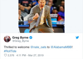Nate Oats off and running to start frenetic basketball offseason