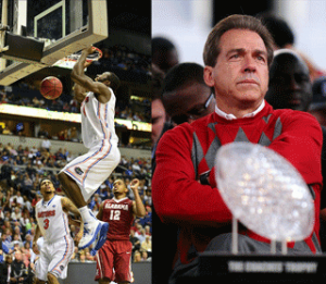 Looking forward to 2013 Football | Photo Credits: Basketball - Don McPeak-USA TODAY Sports; Nick Saban - Kelly Lambert-USA TODAY Sports