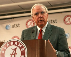 Tuscaloosa, AL, USA; Athletics director Mal Moore; Photo credt: Marvin Gentry-USA TODAY Sports
